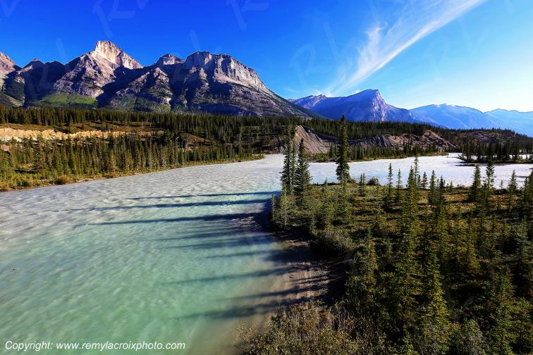 Saskatchewan River,Banff National Park,Alberta,Canada