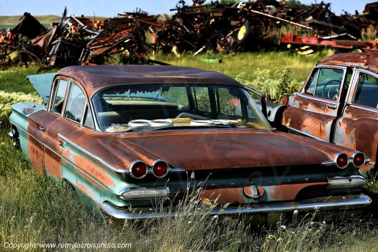 Superbe Epaves voitures américaines photos american classic cars wrecks @OO_54