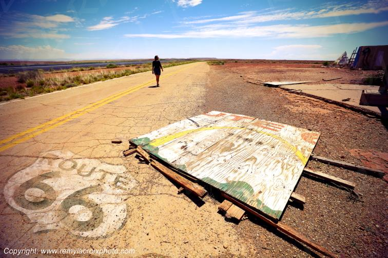 Lost Highway,Meteor City Trading Post,Route 66,Arizona,USA