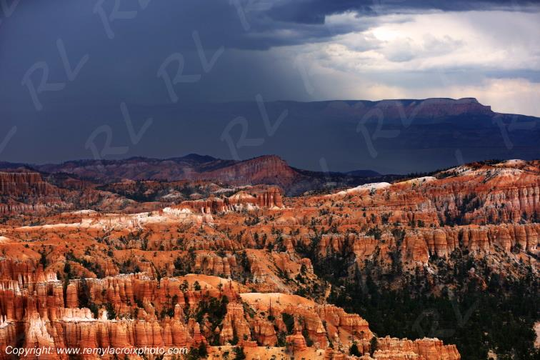 Inspiration Point Bryce Canyon National Park Utah USA