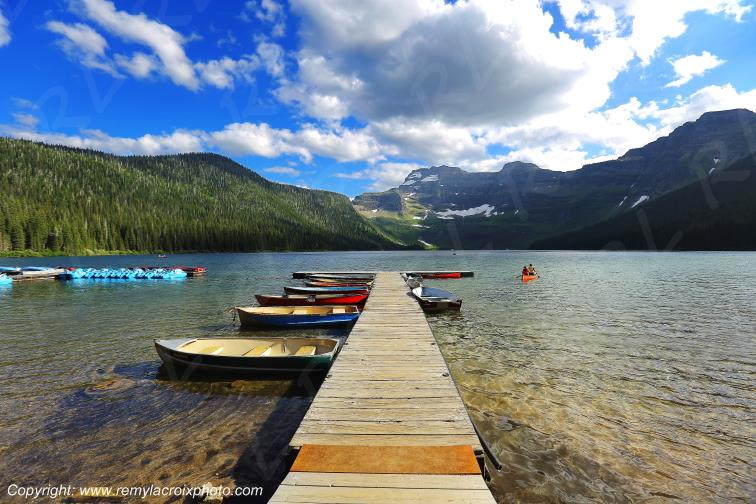 Cameron Lake,Waterton Lakes Nat'l Park,Alberta,Canada