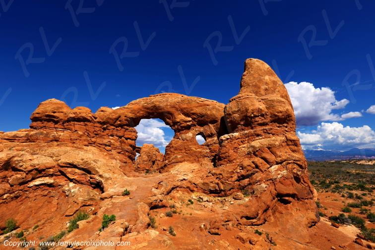 Turret Arch Arches Arches National Park Utah USA