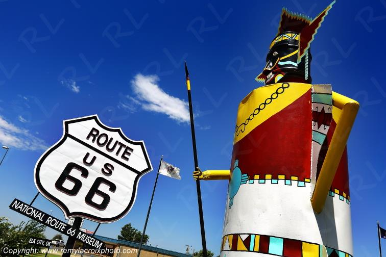 National Route 66 Museum,Elk City,Oklahoma,USA