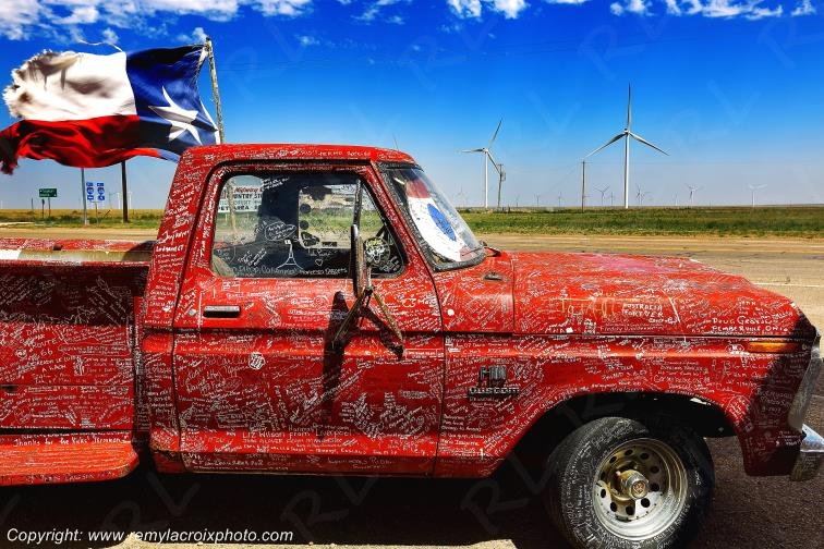 Route 66,Dedicated Truck,Adrian,Texas,USA
