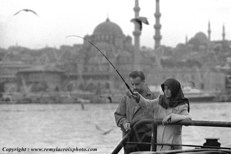 Istanbul Turquie photographies noir et blanc black and white pictures
