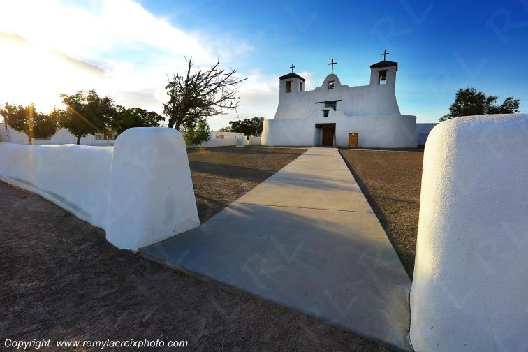 St Augustine Mission,Isleta,Route 66,New-Mexico,USA