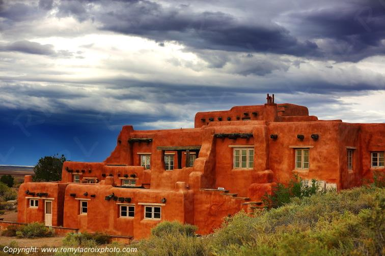 Painted Desert Inn,Route 66,Petrified Forest National Park,Arizona,USA